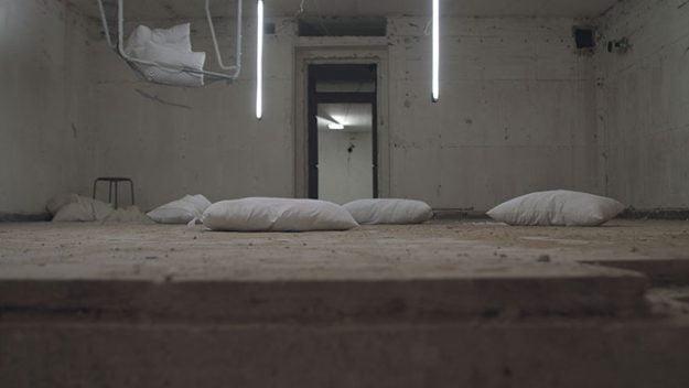 Bunker on Kummerstraße [Grief Street] by Susanne Dietz